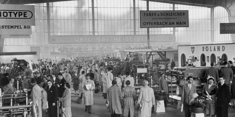 messe-geschichte-1951-erste-drupa-halle